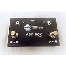 Live Wire Solutions ABY 1 Pedal