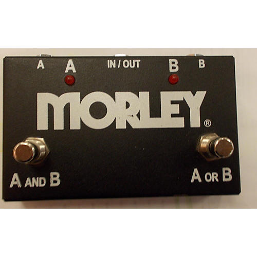 Morley ABY Black Pedal