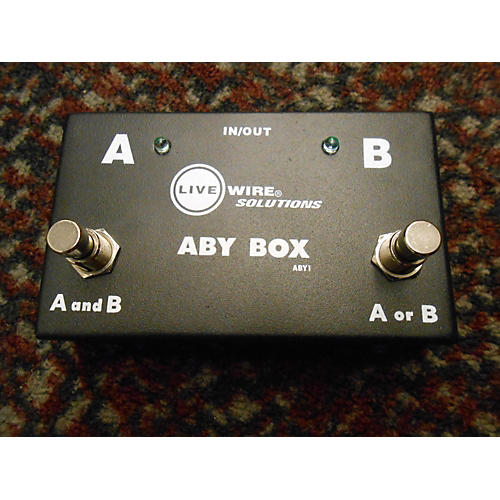Live Wire Solutions ABY Box Pedal