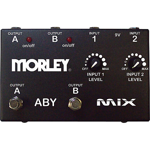 Morley ABY Mix Guitar Mixer and Switcher