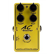 Xotic AC Booster Overdrive Guitar Effects Pedal