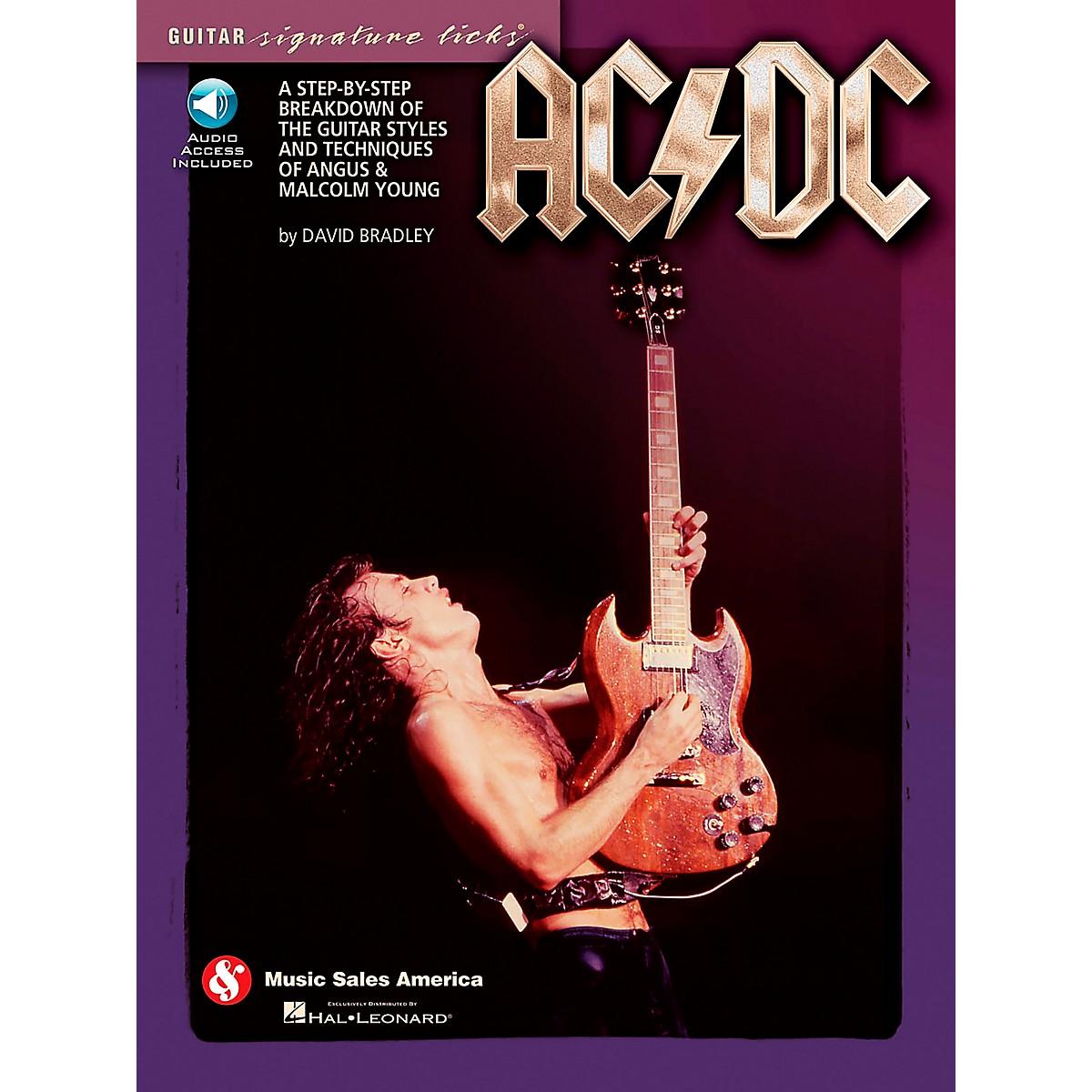 Music Sales AC/DC - Guitar Signature Licks Book/CD