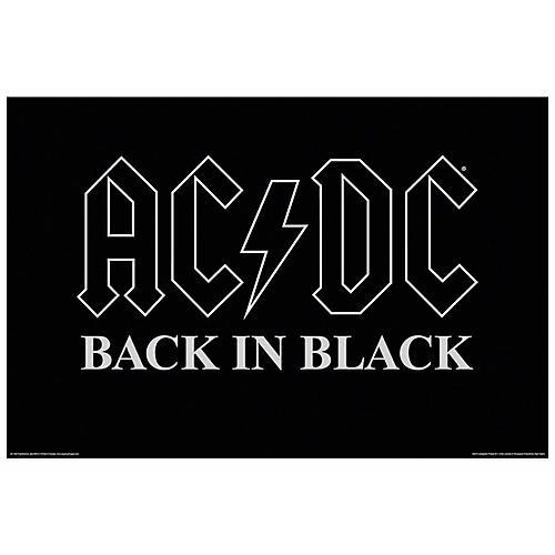 Hal Leonard AC/DC Back in Black Wall Poster