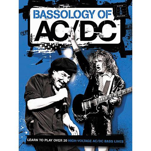 Music Sales AC/DC Bassology Bass Tab Book