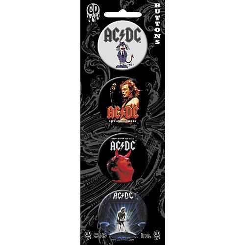 C&D Visionary AC/DC Button Set (4 Piece)