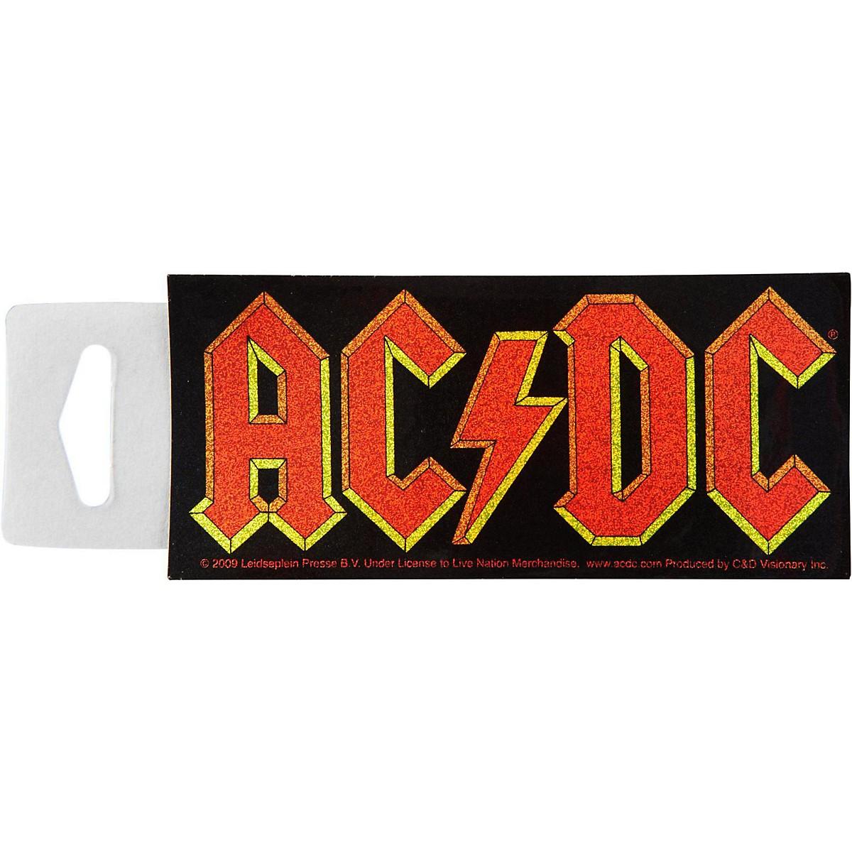 C&D Visionary AC/DC Glitter Sticker