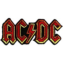 C&D Visionary AC/DC Logo Patch