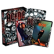 Hal Leonard AC/DC Playing Cards Single Deck