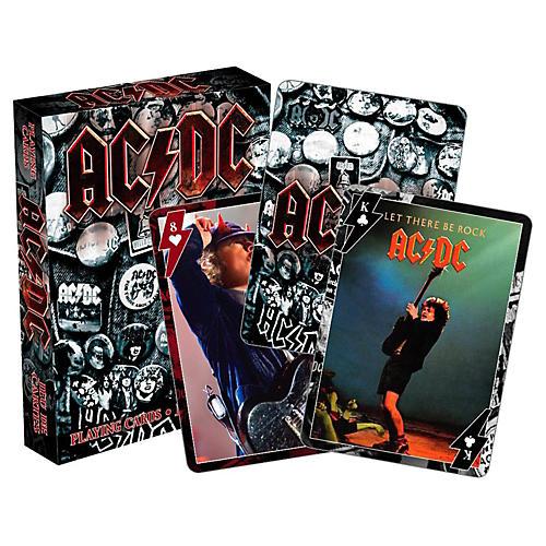 Hal Leonard AC/DC Playing Cards Single Deck