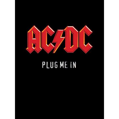 Music Sales AC/DC Plug Me In Live Concert (Guitar Tab Book)
