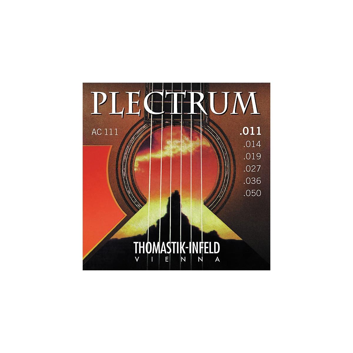 Thomastik AC111 Plectrum Bronze Acoustic Guitar Strings - Light