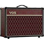 AC15 Limited-Edition Two-Tone 15W 1x12 Tube Guitar Combo Amp Black and Red