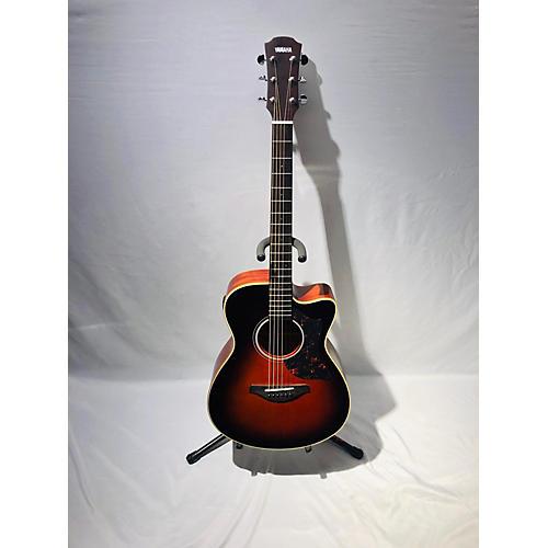 used yamaha ac1m acoustic electric guitar sunburst guitar center. Black Bedroom Furniture Sets. Home Design Ideas