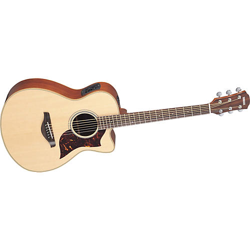 Yamaha AC1M Concert Acoustic-Electric Guitar w/Hardshell Guitar Case