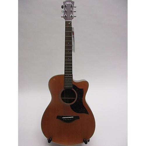 used yamaha ac1r acoustic electric guitar natural guitar center. Black Bedroom Furniture Sets. Home Design Ideas
