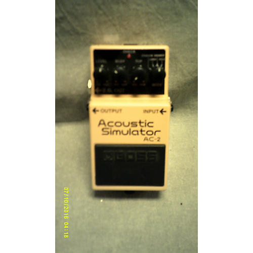 Boss AC2 Acoustic Simulator Effect Pedal