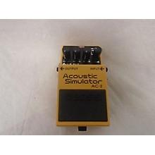 Boss AC2 Acoustic Simulator Effect Pedal