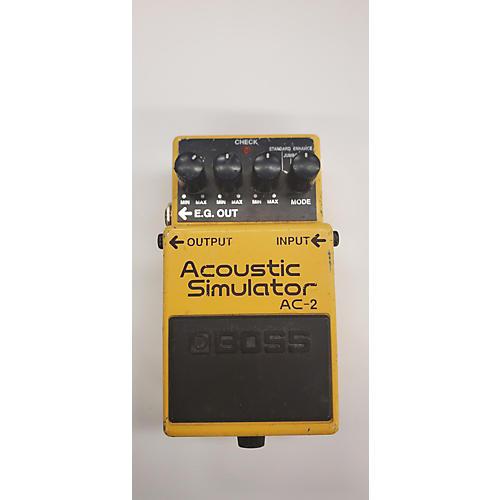 used boss ac2 acoustic simulator effect pedal guitar center. Black Bedroom Furniture Sets. Home Design Ideas