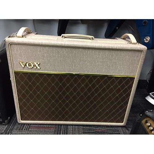 Vox AC30HW2X 2X12 30W Handwired Antique White Tube Guitar Combo Amp