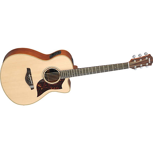 Yamaha AC3M All Solid Wood Concert Acoustic-Electric Guitar w/Hardshell Case