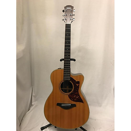 used yamaha ac3r acoustic electric guitar natural guitar center. Black Bedroom Furniture Sets. Home Design Ideas