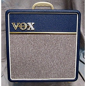 used vox ac4c1 bl 4w 1x10 mini amp with top boost tube guitar combo amp guitar center. Black Bedroom Furniture Sets. Home Design Ideas