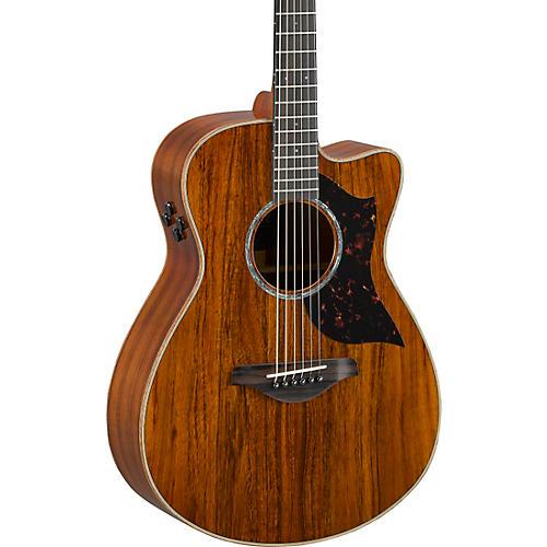 Yamaha AC4KII Limited Koa Small Body Acoustic-Electric Guitar