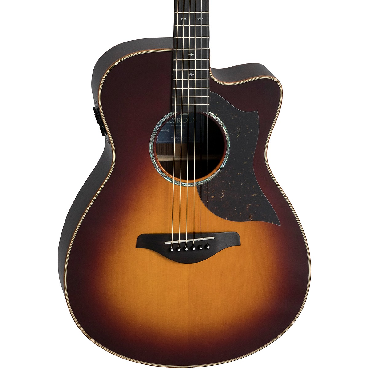 Yamaha AC5R DLX Concert Acoustic-Electric Guitar