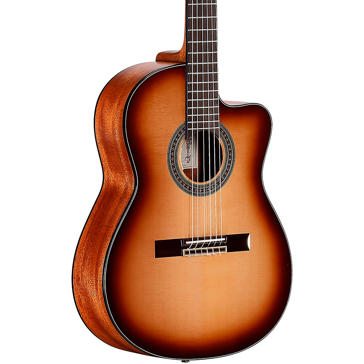 Alvarez AC610HCESHB Artist Classical Hybrid 14th Fret Acoustic-Electric Guitar