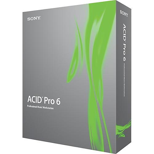 Sony ACID Pro 6.0 Multitrack Recording Software Upgrade