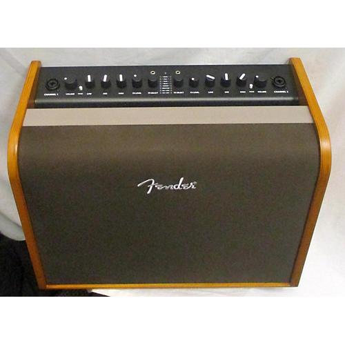 used fender acoustic 100 acoustic guitar combo amp guitar center. Black Bedroom Furniture Sets. Home Design Ideas