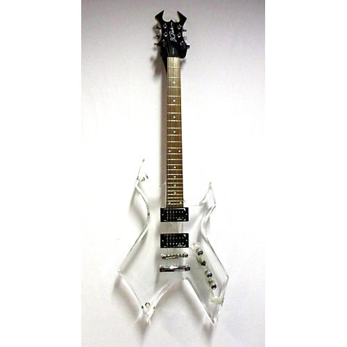 B.C. Rich ACRYLIC SERIES WARLOCK Solid Body Electric Guitar