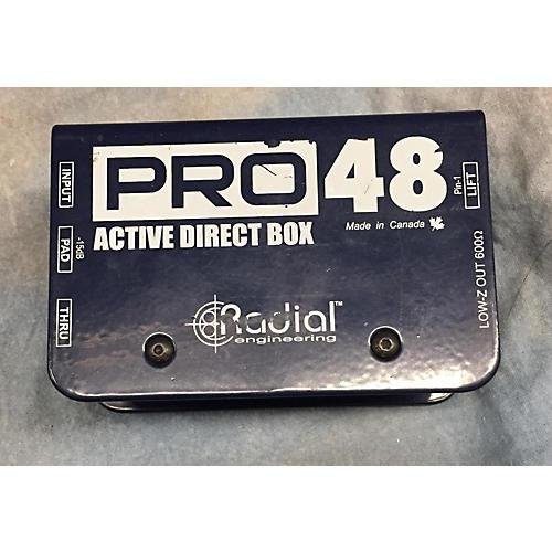 Radial Engineering ACTIVE DIRECT BOX Signal Processor