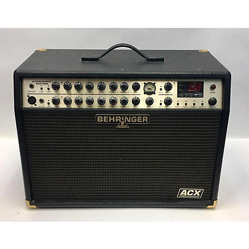 Behringer ACX1000 ULTRACOUSTIC Guitar Combo Amp