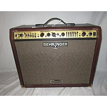 Behringer ACX900 2X8 90W Ultracoustic Acoustic Guitar Combo Amp