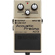 AD-2 Acoustic Preamp Pedal