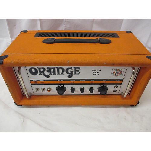 Orange Amplifiers AD 200 BASS MKII Tube Bass Amp Head