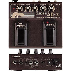 boss ad 3 acoustic guitar multi effects pedal guitar center. Black Bedroom Furniture Sets. Home Design Ideas