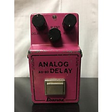 Ibanez AD-80 ANALOG DELAY Effect Pedal
