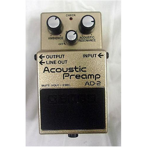 Boss AD2 ACOUSTIC PREAMP Effect Pedal
