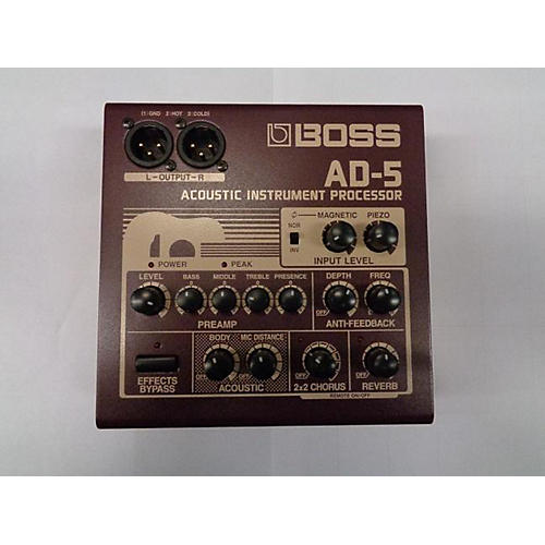 Boss AD5 Effect Pedal Package