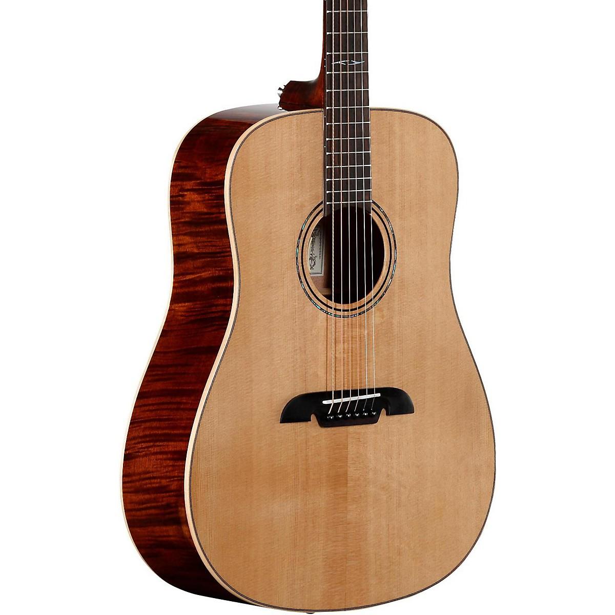 Alvarez AD610EFM Limited Edition Dreadnought Acoustic-Electric Guitar