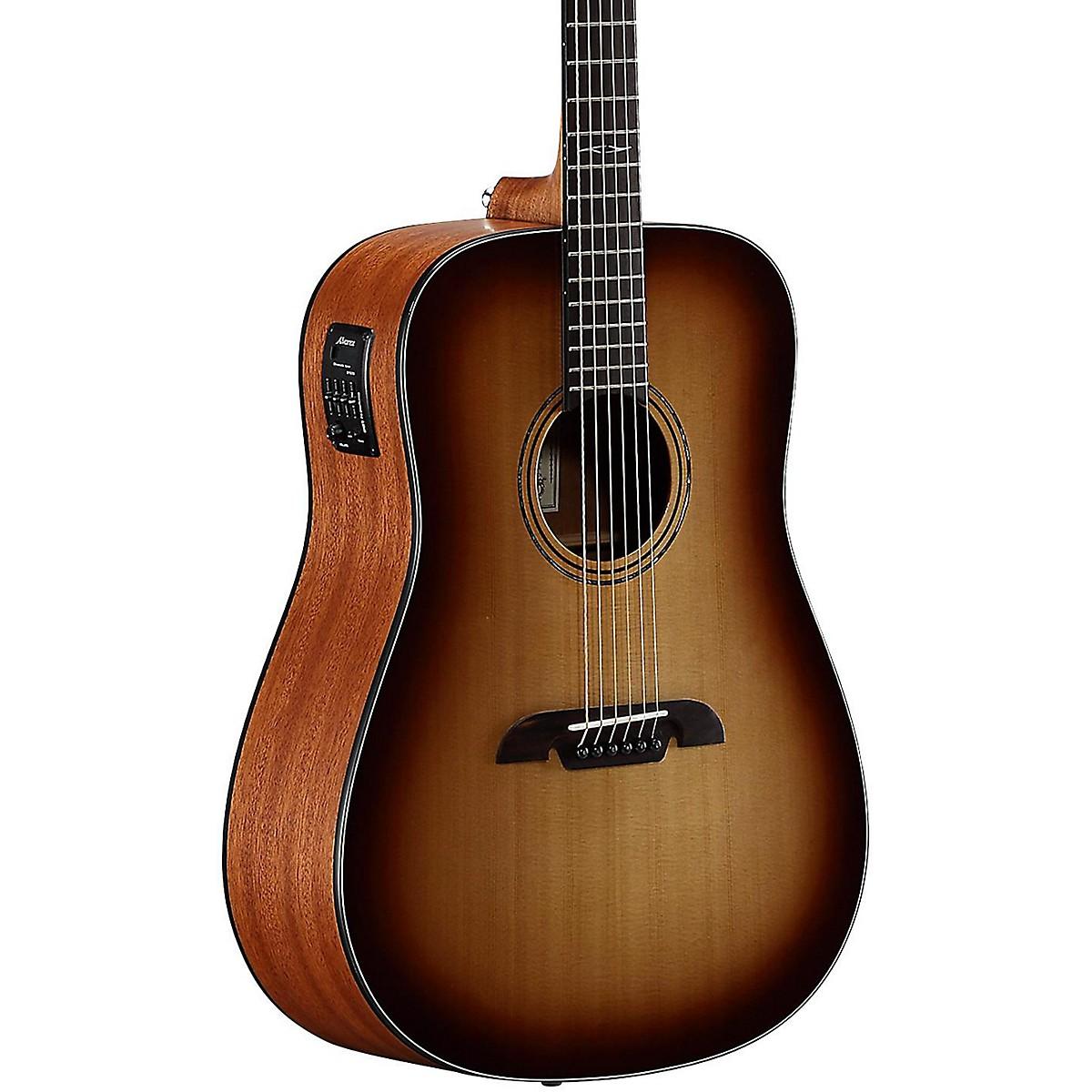 Alvarez AD610ESHB Dreadnought Acoustic-Electric Guitar