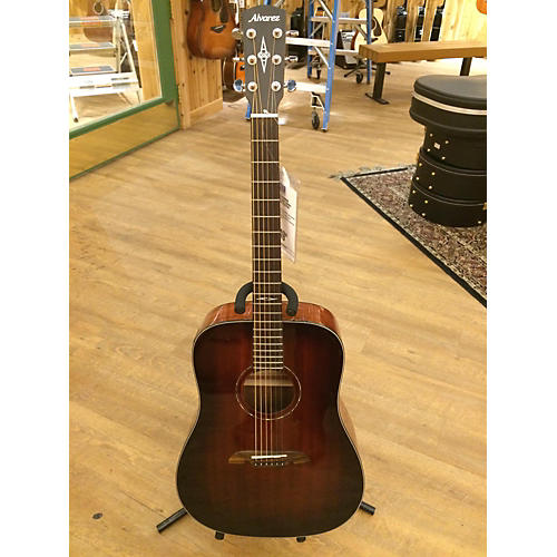Alvarez AD660ESB Dreadnought Acoustic Electric Guitar
