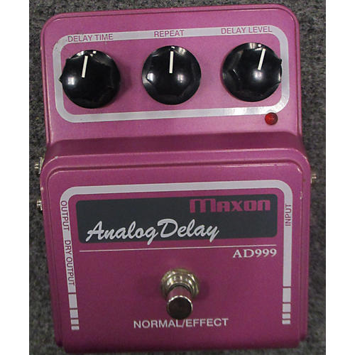 Maxon AD999 Vintage Series Analog Delay Effect Pedal