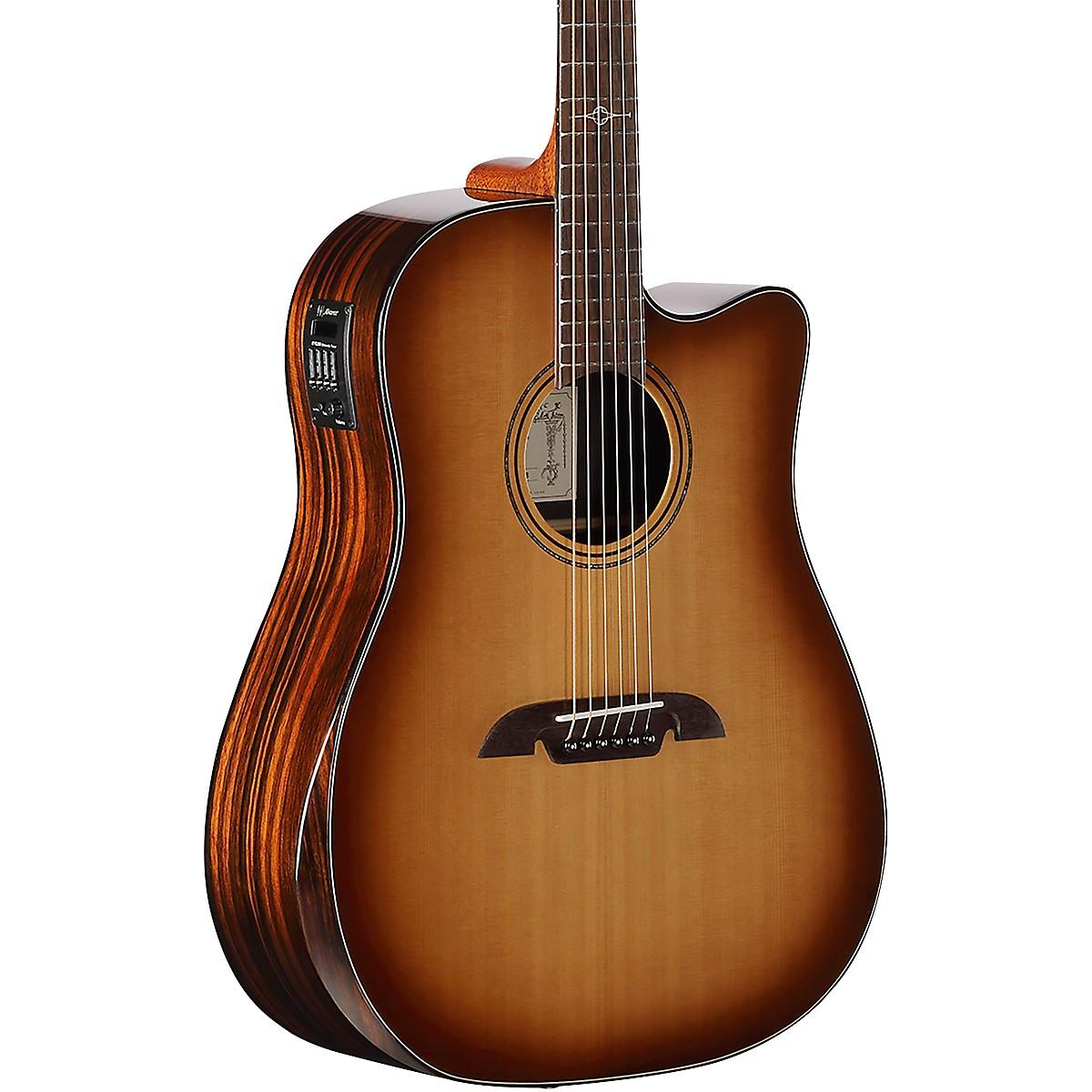 Alvarez ADE915CEAR-SHB Artist Elite Shadowburst Dreadnought Acoustic-Electric Guitar