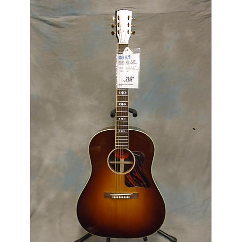 Gibson ADVANCED JUMBO CST SHP AMBER BURST 1OF75 Acoustic Electric Guitar
