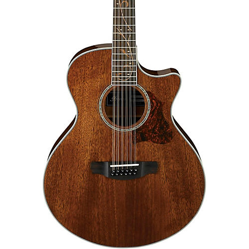 ibanez ae2412 12 string acoustic electric guitar high gloss natural guitar center. Black Bedroom Furniture Sets. Home Design Ideas