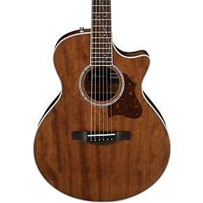 ibanez ae245jropn small body acoustic electric guitar satin natural guitar center. Black Bedroom Furniture Sets. Home Design Ideas