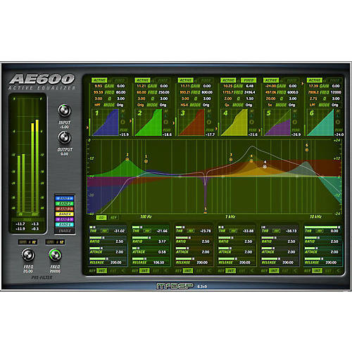 McDSP AE600 Active EQ Native v6